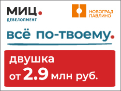 ЖК «Новоград Павлино» Балашиха, 3 км от метро Некрасовка